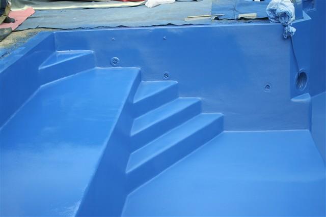 Poliurea impermeabilizzazioni speciali poliurea per piscine - Impermeabilizzazione scale esterne ...