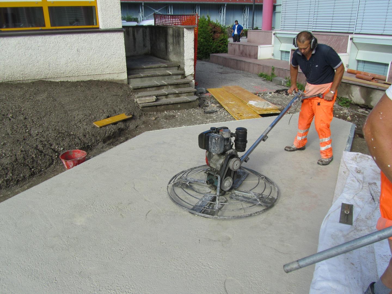 Pavimenti industriali pavimenti industriali per esterni - Cemento colorato per esterno ...